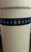 Photo: Thermometer on Collection Jar