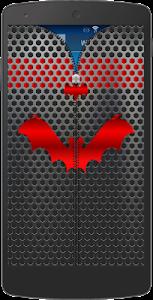 Metal Bat Zip Screen Lock screenshot 1