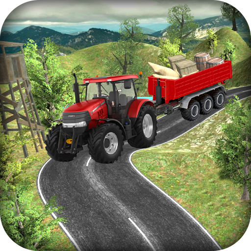 Real Tractor Cargo Transport : Offroad 3D Sim 2017