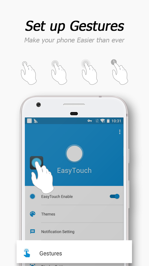 Screenshots of EasyTouch - assistive launcher for iPhone