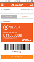 Screenshot of Jeju Air