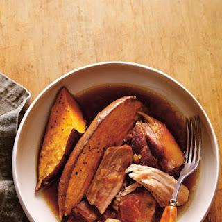 Maple and Roasted Garlic Pork Shoulder Recipe