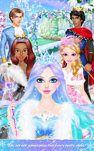 Princess Salon: Frozen Party 1.3 screenshots 5