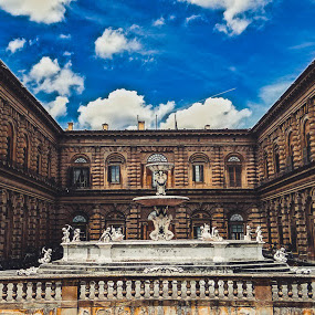 Pitti Palace by Jordan  Richardson - Buildings & Architecture Public & Historical ( backpacking, explore, old, adventure, tourist, florence, travel, museum, palace, garden, italy )