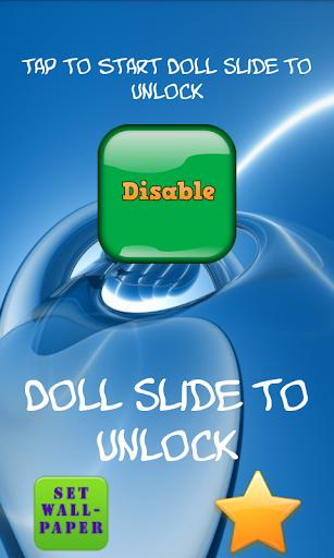 Doll Slide to Unlock