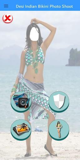 Desi Indian Bikini Photo Shoot apktram screenshots 1
