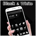 Black and White Theme Icon