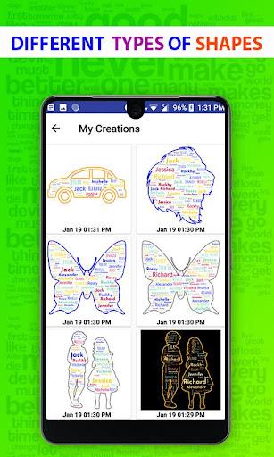 Word Cloud Art Generator screenshot 10