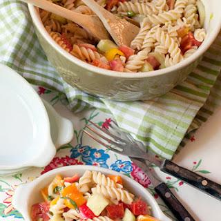 Summertime Pasta Salad.