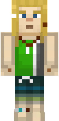 This is Nell from Minecraft Story Mode!