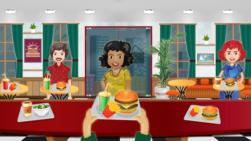 Télécharger Cooking Burger Restaurant apk mod screenshots 1