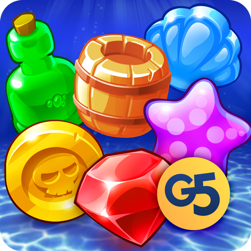 Pirates & Pearls: A Treasure Matching Puzzle APK Cracked Download