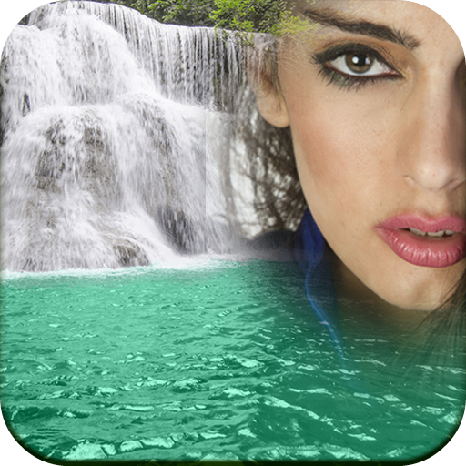 Waterfall Frames for Pictures Icon
