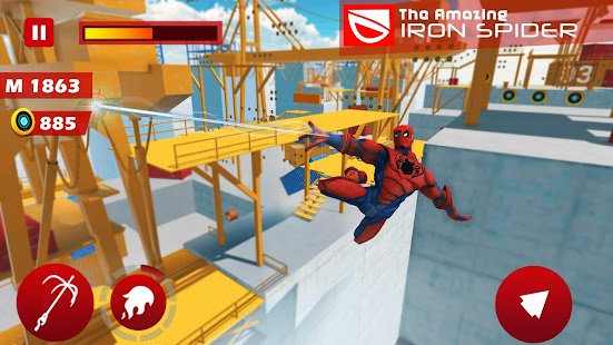 The Amazing Iron Spider- screenshot thumbnail