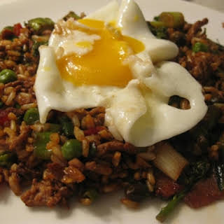 Nasi Goreng With Turkey Mince.