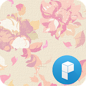 Vintage Flowers Launcher Theme
