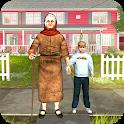 Virtual Grandmother Simulator: Happy Family life icon