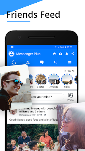 Messenger for Messages,Video Chat,Call ID for Free screenshot 4