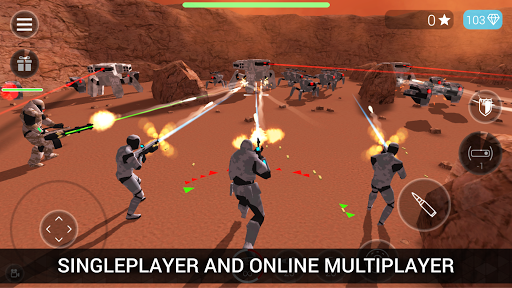 CyberSphere: TPS Online Action-Shooting Game apktreat screenshots 1