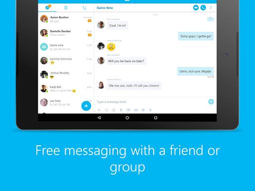 Skype - free IM & video calls screenshot 6