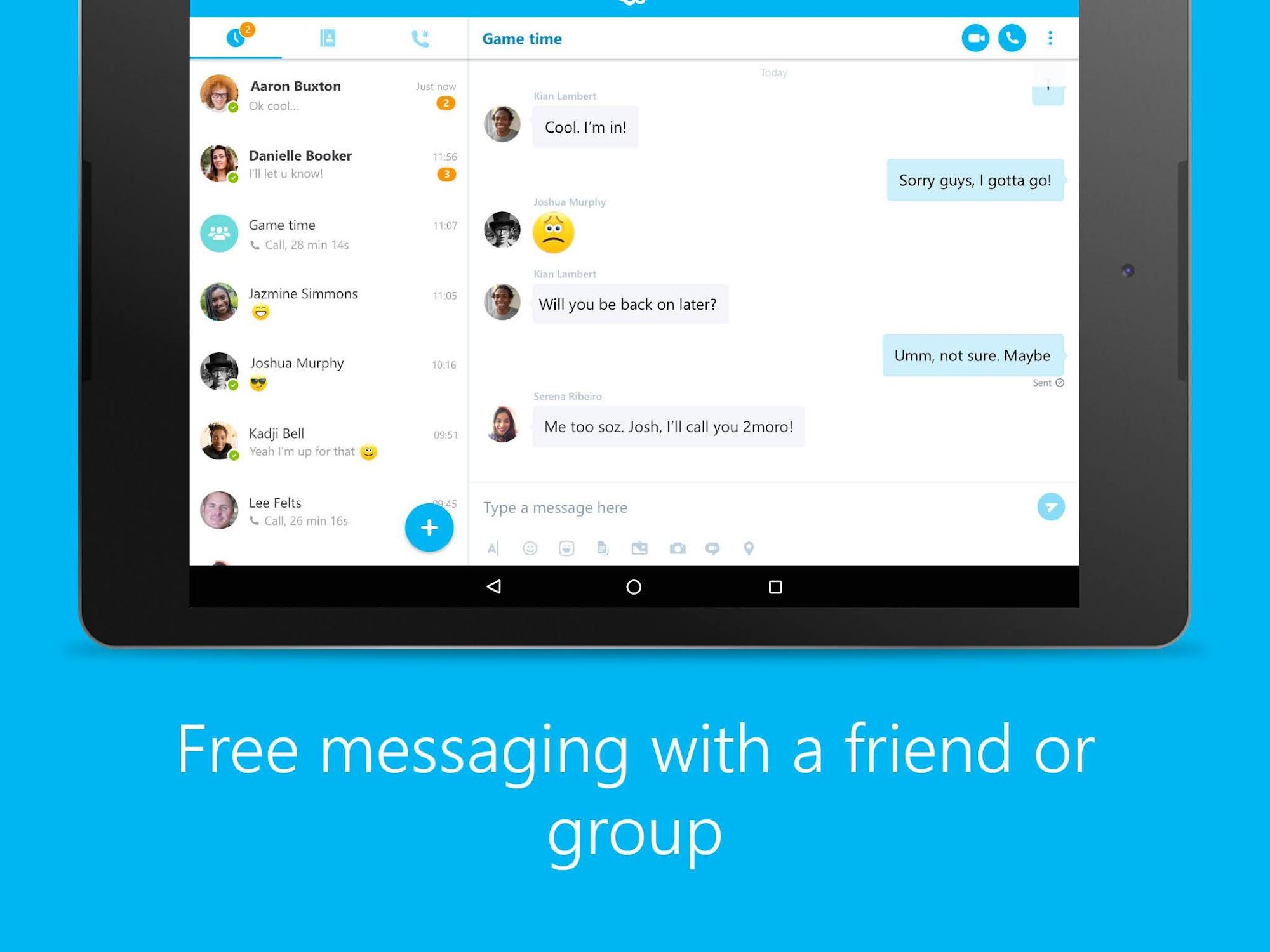 Skype - free IM & video calls screenshot #6