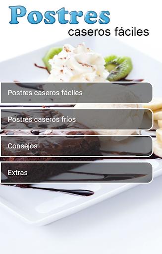 Postres Caseros Fu00e1ciles 1.0 screenshots 4