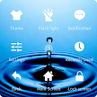 Assistive Touch Water themes APK