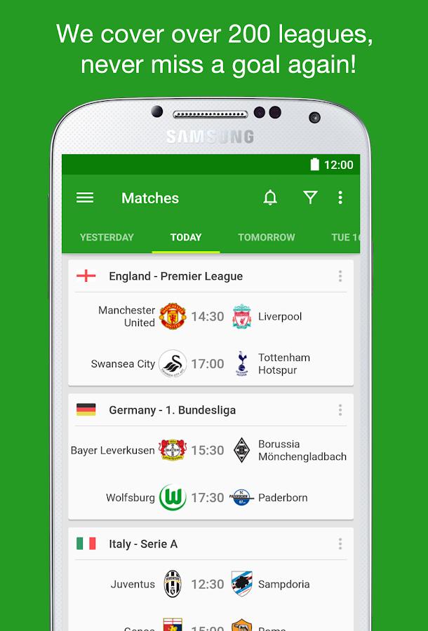 Soccer Scores - FotMob- screenshot