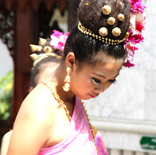 Photo: Day 336 -  Dancer at the Wat in  Doi Suthep #2