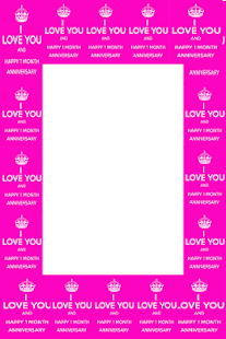 Happy monthsary photo frame apps on google play screenshot image m4hsunfo