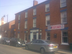 Photo: A commercial Sky sports subscription seems to require premises to put up banners everywhere. A restaurant and bar, with free wifi, the clientel have probably paid alot of money to be there. http://www.admiralrodney.com/