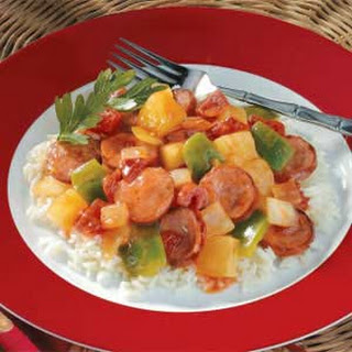 Polynesian Sausage Supper Recipe