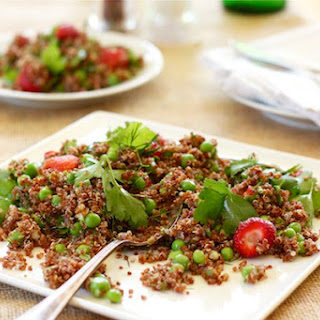 Strawberry Quinoa Salad with Peas and Dill