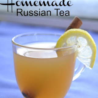 Russian Tea {Hold the Powdered Mix!}