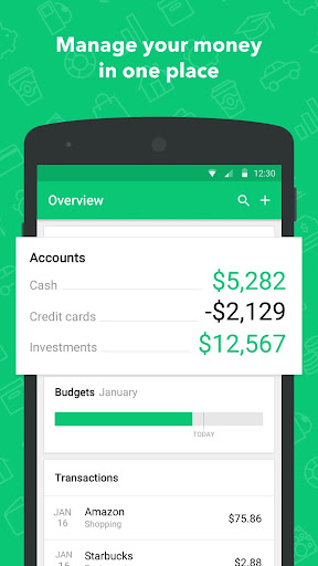 Mint: Budget, Bills, & Finance Tracker 6.2.1 screenshots 1
