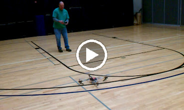 Video: Basic Quad Flying in the Gym