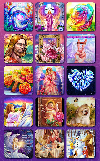 Bible Coloring - Paint by Number, Free Bible Games 2.5.2 screenshots 16