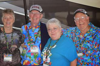 Photo: Rally Masters - De & Marvin Pitts, Kay & David Piper