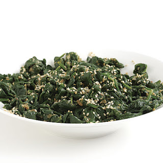 Japanese Spinach with Sesame and Soy