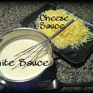 ~ White Sauce/ Cheese Sauce ~