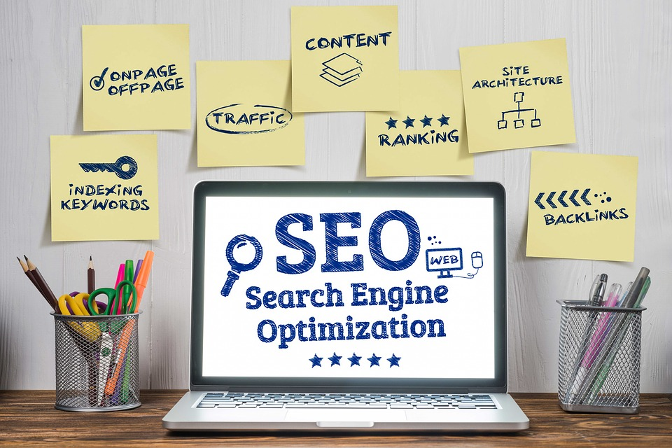 SEO different categories