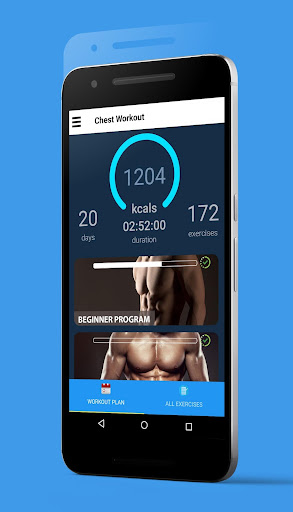 Bigger Chest In 30 Days - Chest Workouts 1.0.3 screenshots 1