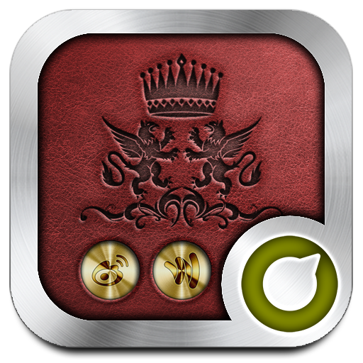 Royal Gold Solo Launcher Theme Android APK Download Free By RIU Design