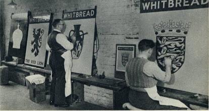 Photo: The Inn Sign Paint Shop Phoenix Brewery Wateringbury
