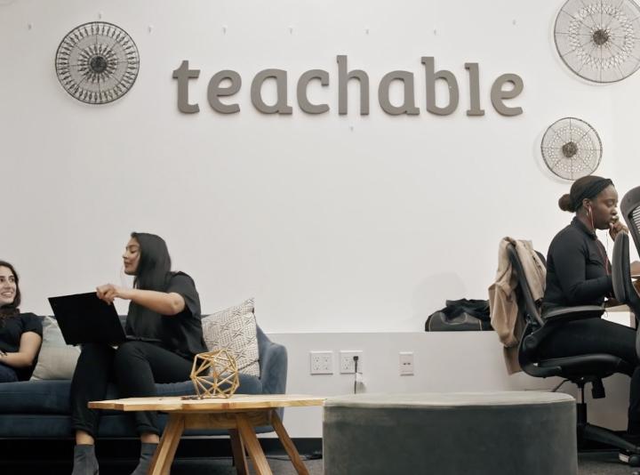Careers video at Teachable