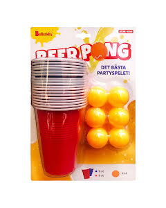 Beer Pong-set