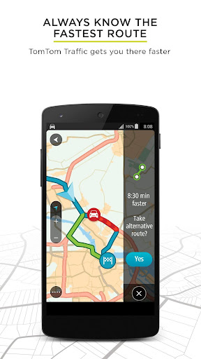 TomTom GPS Navigation - Live Traffic Alerts & Maps 1.17.10 screenshots 1