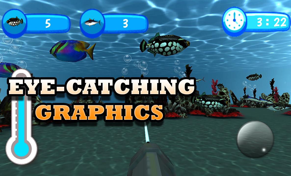 Underwater fishing game play android apps on google play for Fishing game android