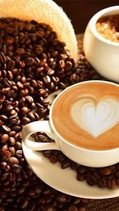 Hot cozy coffee Live wallpaper 4