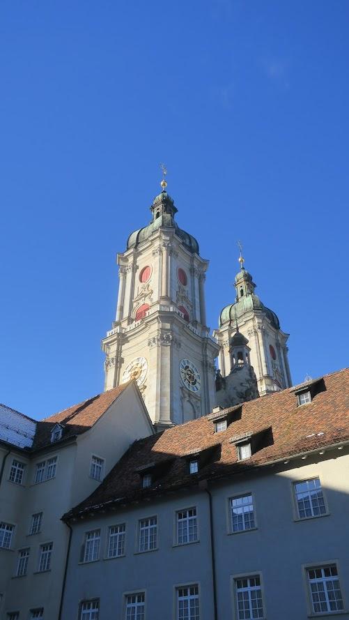 Abdij Sankt Gallen (Le petit requin)